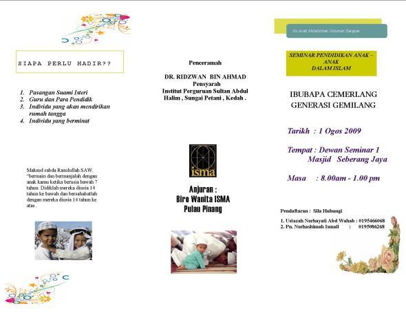 seminar ibubapa